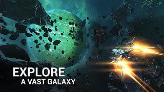 Galaxy on Fire 3 - snímek obrazovky