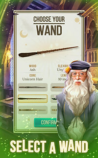 Harry Potter: Puzzles & Spells - snímek obrazovky