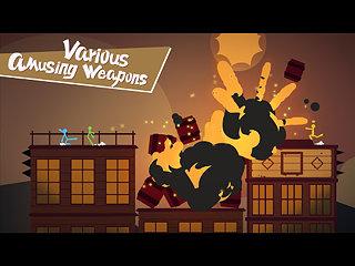 Stick Fight: The Game - snímek obrazovky
