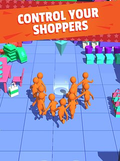 Crazy Shopping - snímek obrazovky