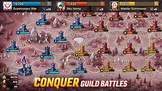 Summoners War - snímek obrazovky