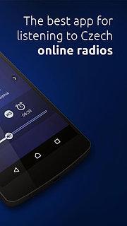 CZ Radio - Czech online radios - snímek obrazovky