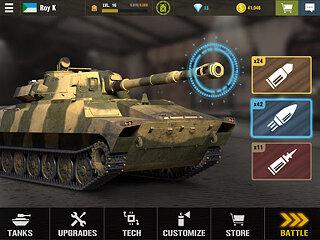 War Machines: Tank Battle - Army & Military Games - snímek obrazovky