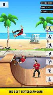 Flip Skater - snímek obrazovky