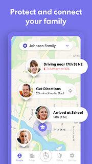 Life360: Family Locator & GPS Tracker - snímek obrazovky