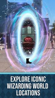 Harry Potter:  Wizards Unite - snímek obrazovky