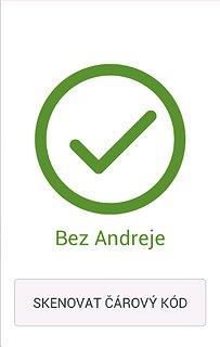 Bez Andreje - snímek obrazovky
