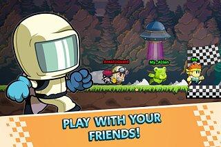 Battle Racing Stars - snímek obrazovky