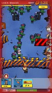 Zombie Idle Defense - snímek obrazovky