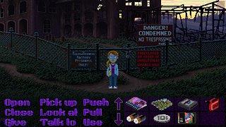Thimbleweed Park - snímek obrazovky