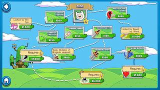 Bloons Adventure Time TD - snímek obrazovky
