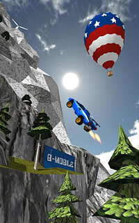 Ramp Car Jumping - snímek obrazovky
