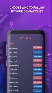 FindNow - snímek obrazovky