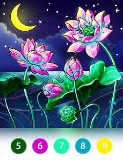 Coloring Fun : Color by Number Games - snímek obrazovky