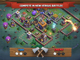 Clash of Clans - snímek obrazovky