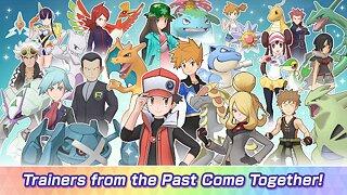 Pokémon Masters EX - snímek obrazovky